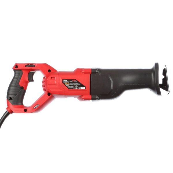 Skil 9 Amp Corded Electric Variable Speed Reciprocating Saw with Wood Cutting Blade