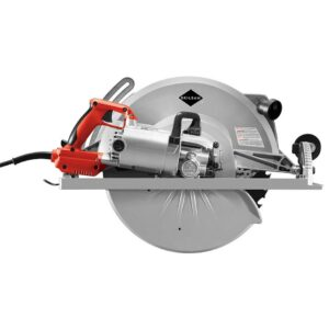 SKILSAW 16-5/16 in. 15 Amp Corded Electric Magnesium Worm Drive Circular Saw with 32-Tooth Carbide Blade