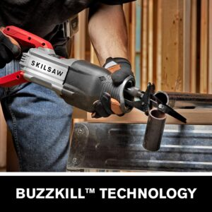SKILSAW 13 Amp Reciprocating Saw with Buzzkill Technology