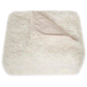 Safavieh Cuddle Snow White Throw Blanket