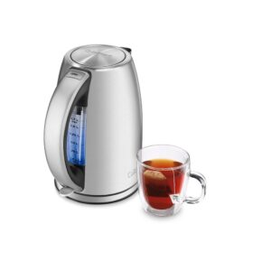 Cuisinart 8-Cup Stainless Steel Electric Kettle with Automatic Shut-off