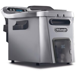 DeLonghi Livenza Dual Zone Digital 4.5L Stainless Steel Deep Fryer with Easy Clean Drain System