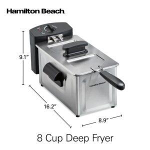 Hamilton Beach 2 Qt. Stainless Steel Deep Fryer