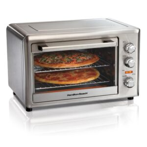 Hamilton Beach Countertop Stainless Steel Toaster Oven with Convection and Rotisserie