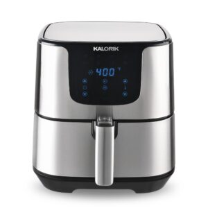 KALORIK Pro 3.5 Qt. Stainless Steel Air Fryer