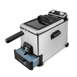KALORIK 4.0 L XL Deep Fryer with Oil Filtration System