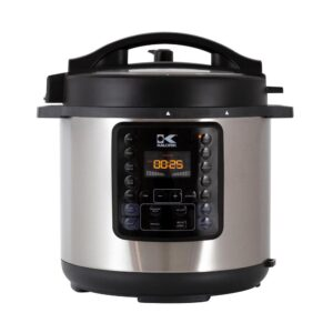 KALORIK 10-in-1 Multi Use 6 Qt. Stainless Steel Electric Pressure Cooker