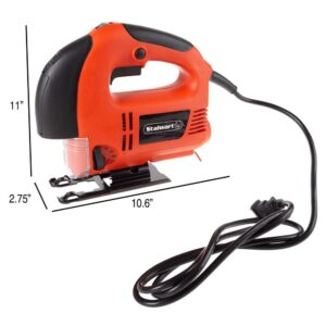 Stalwart 5 Amp Variable Speed Corded Electric Jig Saw with Laser Guide