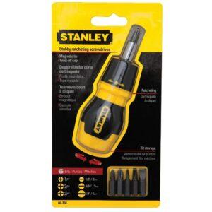 Stanley 6 in 1 Ratcheting Screwdriver