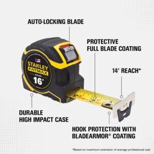Stanley FATMAX 16 ft. Autolock Tape Measure with Bonus 16 ft. FATMAX Tape Measure