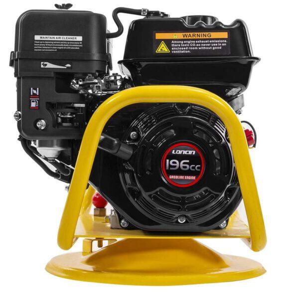 Stark 6.5 HP 196 cc Gas-Powered Loncin Motor 360-Degree Swivel Base Concrete Vibrator Unit with Flexible Poker