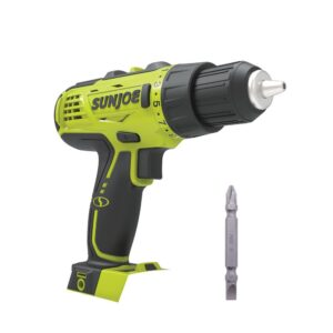 Sun Joe 24-Volt Lithium-iON Cordless 0.5 in. Drill/Driver (Tool-Only)