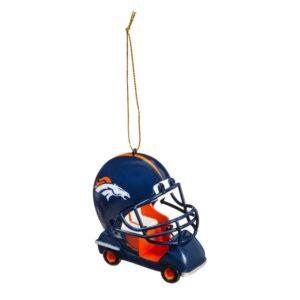 Team Sports America Denver Broncos 3 in. NFL Field Car Christmas Ornament