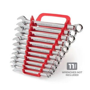 TEKTON 5.75 in. 11-Tool Store-and-Go Wrench Rack Keeper in Red
