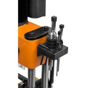 WEN 5 Amp Cast Iron Bench Mortiser with Chisel Bit Set