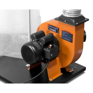 WEN 1500 CFM 16 Amp 5-Micron Woodworking Dust Collector with 50 Gal. Collection Bag and Mobile Base