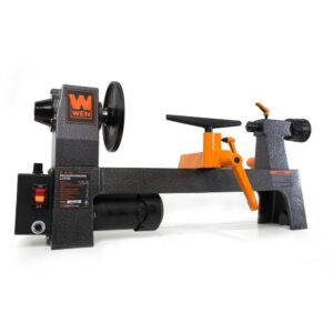 WEN 8 in. x 12 in. Variable Speed Benchtop Wood Lathe