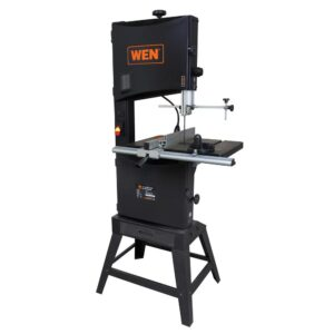 WEN 9.5 Amp 14 in. 2-Speed Band Saw with Stand and Work Light