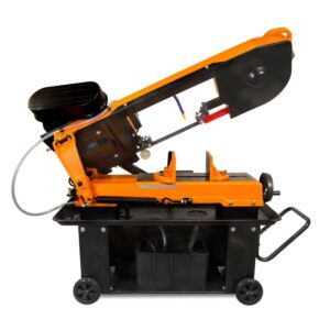 WEN 7 in. x 12 in. Metal-Cutting Band Saw with Stand