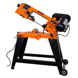 WEN 4.6 Amp 4 in. x 6 in. Metal-Cutting Band Saw with Stand
