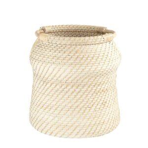 3R Studios Rattan Handwoven Decorative Basket