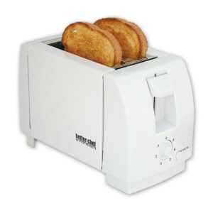 Better Chef 2-Slice White Wide Slot Toaster