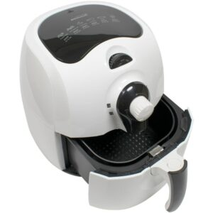 Brentwood 3.7 Qt. White Air Fryer With Timer and Temperature Control
