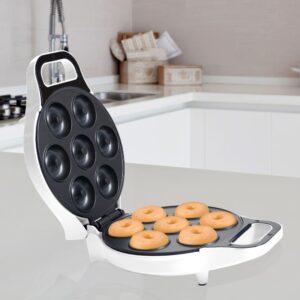 Chef Buddy 750 W White Mini Donut Maker