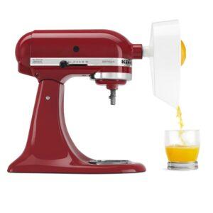 KitchenAid White Citrus Juicer Attachment for KitchenAid Stand Mixer