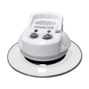 SPT 1300 W White Countertop Convection Oven with Built-in Timer and Extender Ring