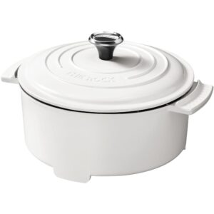 Starfrit THE ROCK 3.2 Qt. White Electric Casserole Slow Cooker