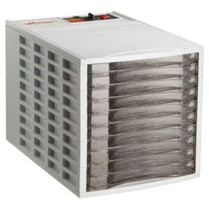 Weston 10-Tray White Food Dehydrator with Temperature Control