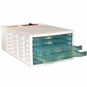 Weston 6-Tray White Food Dehydrator with Temperature Control