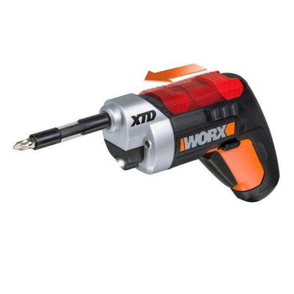 Worx 4-Volt Cordless XTD Extended Reach Screwdriver