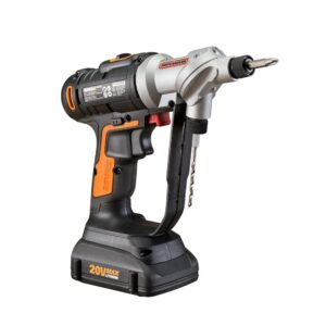 Worx POWER SHARE 20-Volt Switchdriver Cordless 1/4 in. Drill and Driver with 67-Piece Accessory Kit