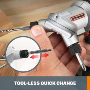 Worx POWER SHARE 20-Volt Lithium-Ion 1/4 in. Cordless Drill and Driver