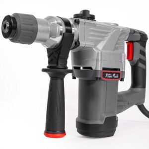 XtremepowerUS 8.5 Amp 1-1/4 in. SDS-Plus Corded Variable Speed Concrete/Masonry Rotary Hammer Drill with Storage Case