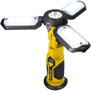 Stanley Rechargeable 400 Lumens LED Satellite Work Light with USB Charger